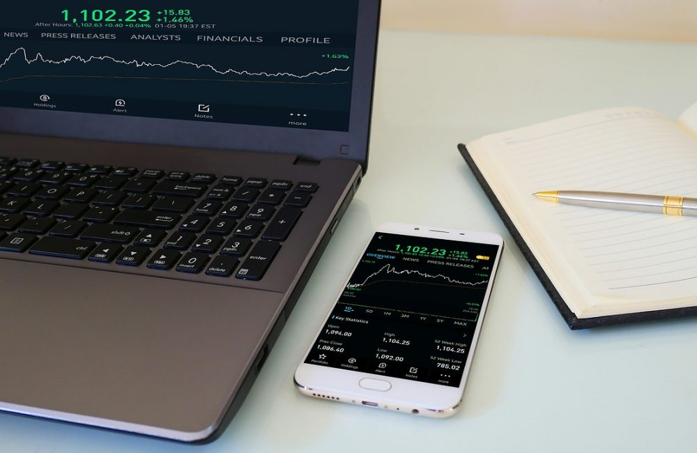 marketing, graph, screen